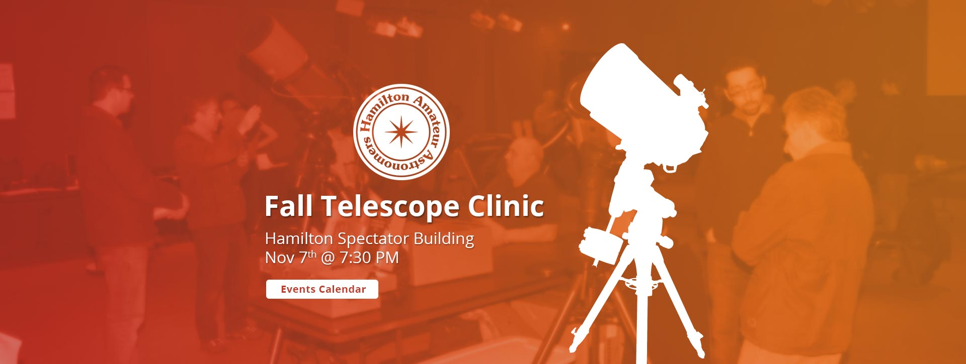 Fall Telescope Clinic