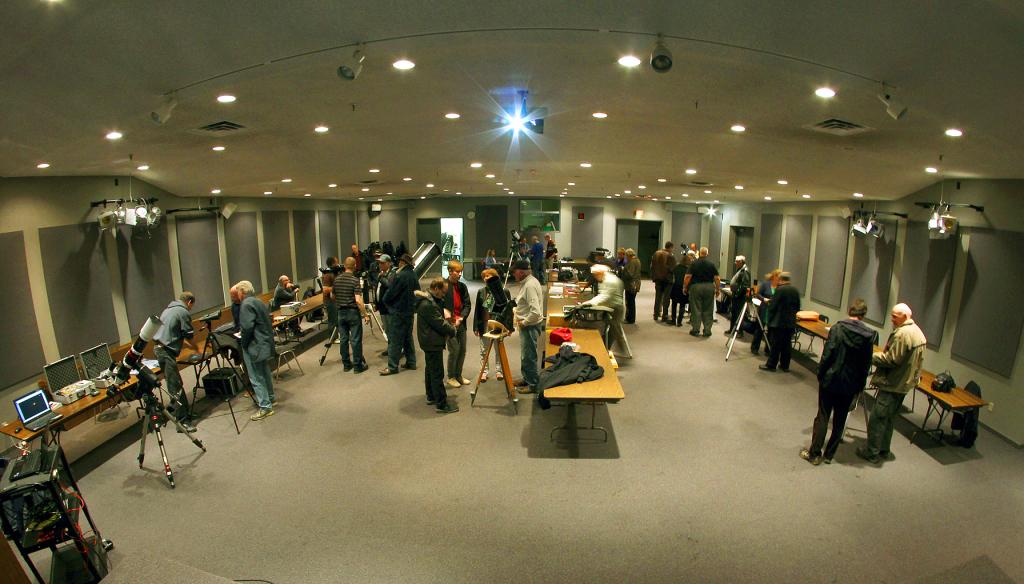 November 7 Telescope Clinic, John Gauvreau