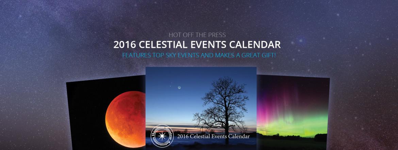 2016 HAA Celestial Events Calendar