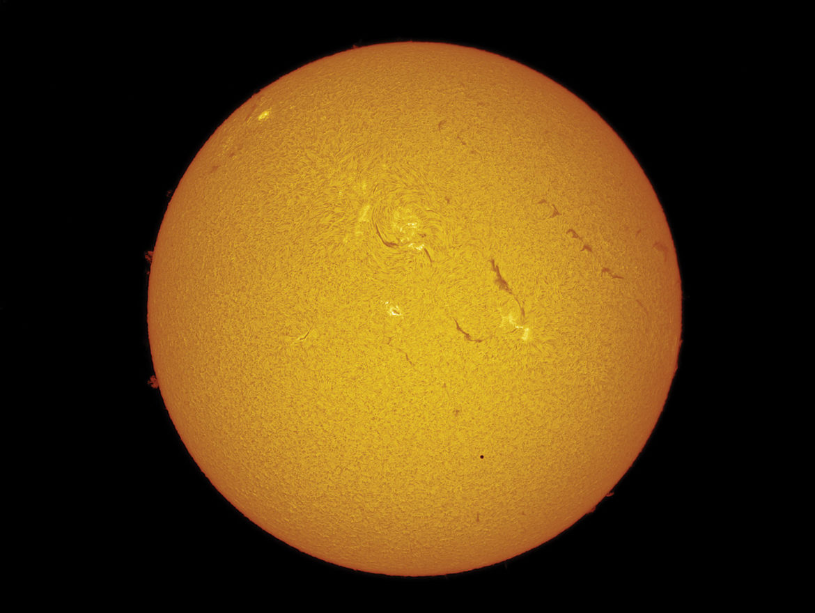 Amateur solar observing